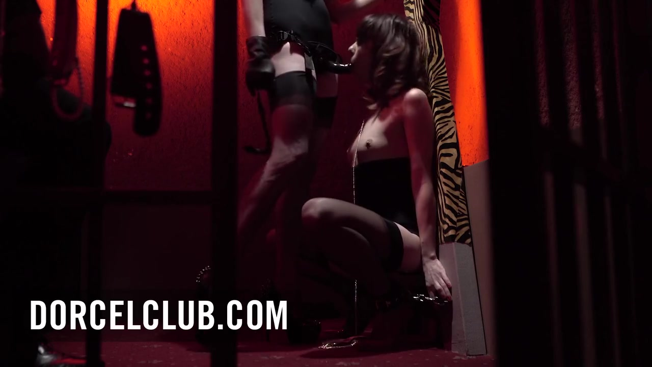 Samantha Bentley And Ariel Rebel In Ariel To Her Dominatrixs Perversions In Sm Club