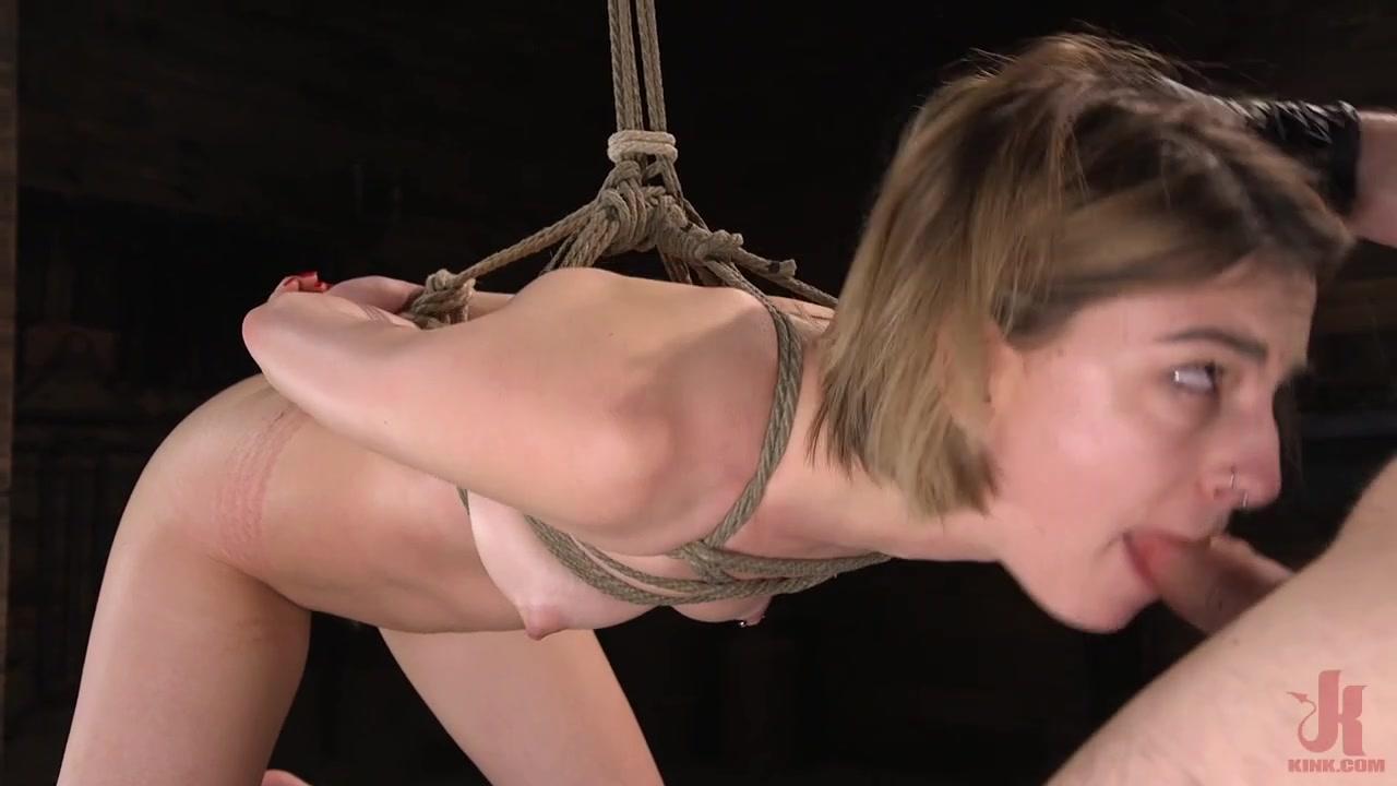 Kristen Scott & Tommy Pistol in Kristen Scott: Bondage Slut Powerfucked Into Massive Twitching Orgasms - KINK