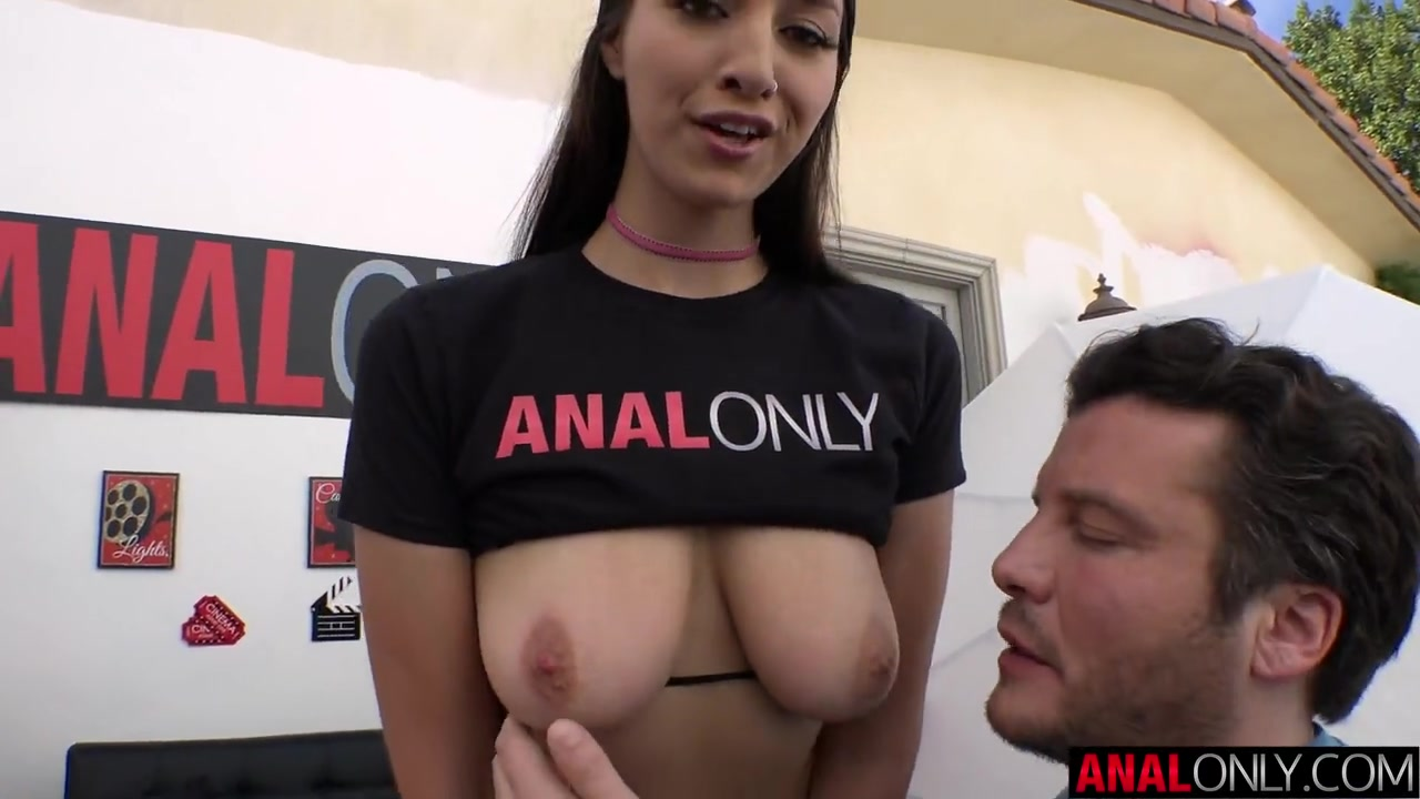 ANAL ONLY Balls deep anal with Bella Rolland