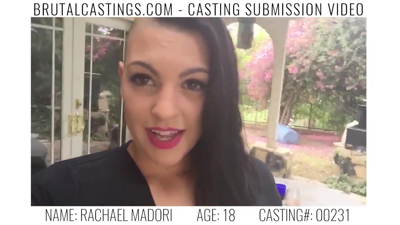 Rachael Madori Endures BDSM & Rough Sex on the Casting Couch